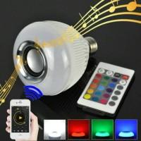 Lampu Led Speaker Bluetooth Fleco 675 With Remot