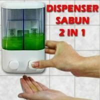 Dispenser Sabun 2 Tabung / Dispenser 2 in 1