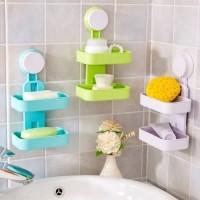 Tempat Sabun 2 Tingkat Double Layer Soap Box