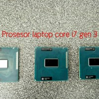 Processor Laptop core i7 gen 3