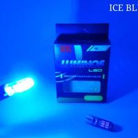 LAMPU SENJA LED T10 BIRU MUDA | LAMPU SENJA LED ICE BLUE | T10 BIRU