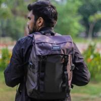 TAS BACKPACK FASHION / RUCKSACK BAG FLEX (BROWN)