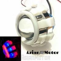 Lampu LED Projie Motor Flash Running Model Jamur