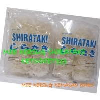 Low Carbs Dry Shirataki 250gr Mie Shirataki Kering