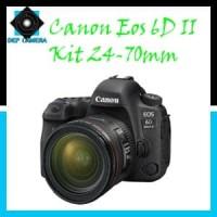 KAMERA CANON EOS 6D Mark II Kit EF 24-70 F4L IS GARANSI 1 TAHUN