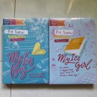 Novel MY ICE BOY & MY ICE GIRL - PIT SANSI (2buku)