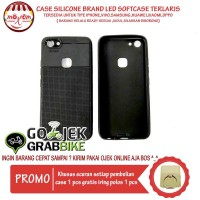 Murah Meriah Case IPhone 5 Motif Brand Led Flash Softcase Hp