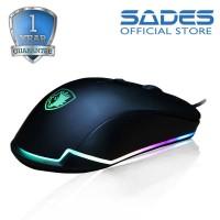 Sades Lance RGB Gaming Mouse