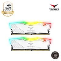Team Memory Delta Tforce RGB 2x16GB PC 3000 DDR4 - White