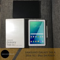 Samsung Galaxy Tab A 2016 10.1 SPen SM-P585Y Second Fullset Mulus