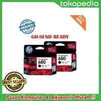 Terbaru HP 680 ORIGINAL Black Ink hitam printer 2135 3635 3835 4675 1