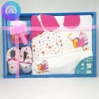 Pakaian Bayi Perempuan Baju & Sepatu Kado Hadiah Baru Lahir - AJA1882
