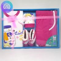 Pakaian Bayi Perempuan Baju & Sepatu Kado Hadiah Baru Lahir - AJA1879