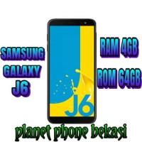 SAMSUNG GALAXY J6 RAM 4GB ROM 64GB GARANSI RESMI