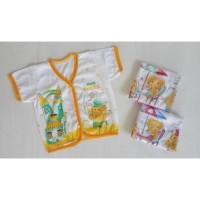 Pakaian Bayi Baju Bayi Lengan Pendek Bahan Katun New Born Baju Bayi