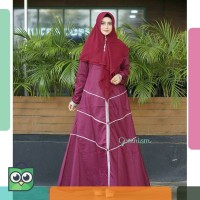 ALIFA DRESS 2 gamis katun toyobo original GREENISM