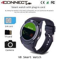 4Connect V8 Smartwatch With GSM and Pedometer function