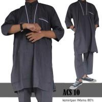 [KOKO TERLARIS] baju muslim terbaik baju koko setelan pakistan dewasa