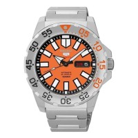 Seiko 5 Sports SRP483K1 Orange Baby Monster SRP483 Automatic