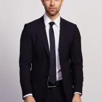 Fashion trendy- Set Jas Vest Pria Exclusive Style Men Black cool