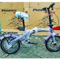 New Sepeda BMX Anak Lipat Phoenix 16 Inchi Bkn BMX United Polygon Mur