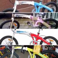 New Sepeda Lipat Terbaru 20 United DOT Kuat