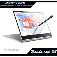 LENOVO YOGA 920 - i7 8550U/16GB/1TB SSD/ 13.9 IPS 4K Touch/ WIN 10