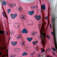 sweater kaos baju jaket lengan panjang cewe perempuan merk nevada ori
