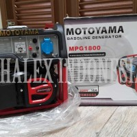 Genset 1200 Watt Max ~ 1000 Watt Rated - Generator Motoyama MPG1800