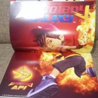 Buku Majalah Komik Boboiboy