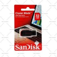 ORIGINAL SANDISK FLASHDISK 32GB CRUZER BLADE CZ50 USB FLASH DISK 32 GB