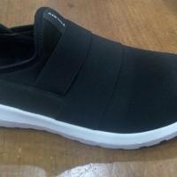 Sepatu Airwalk Original Casual Sneaker Fabel Black