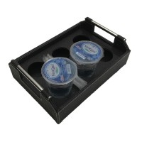 DS - Tempat Minum Aqua Cup Isi 6 Multifungsi + Nampan