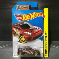 Hot Wheels Ford Fiesta Red