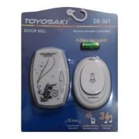 Bel Pintu / Bel Rumah / Door Bell Wireless TOYOSAKI DB-361 DB361 Putih