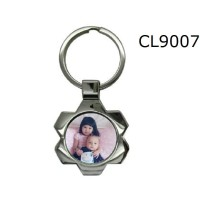 Gantungan Kunci Metal Motif Sun Flower Custom Disain Sendiri CL9007