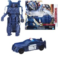 Hasbro Transformers The Last Knight Autobot Barricade Turbo Charger