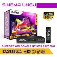 Receiver Matrix Parabola Sinema HD Free Channel Premium Selamanya