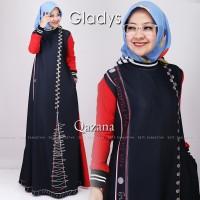 Gamis Dress Wanita GLADYS DRESS Busana Muslim By Qazana