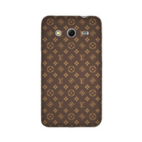 Casing Hp LV Pattern Samsung Galaxy Core 2 Duos Custom Case