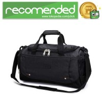 Tas Travel Gym Duffle Bag Portable - Hitam