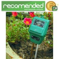 3in1 Alat Pengukur Kelembaban Tanah Soil Moist PH Detector Analyzer -