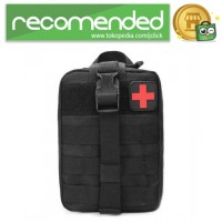 Tas Obat P3K Tactical Portable Waist Bag - Hitam