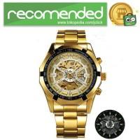 Forsining Jam Tangan Mechanical Luxury Pria - SLZ56 - Gold