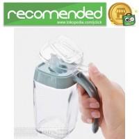 Botol Minyak Serbaguna Seasoning Glass Jar - Multi Warna - 350 ml
