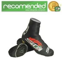 Cover Sepatu Sepeda Anti Debu - Hitam - Size L