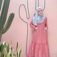 Baju Gamis Murah Mimosa Stripe Dress