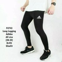 Harga celana legging leging training pria futsal gym fitness kiper | antitipu.com