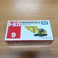 Tomica No 9 Komatsu Excavator PC200-10