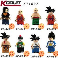 Mainan Lego Dragonball Set XP048 - XP055 - Limited Minifigure